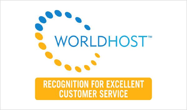 Worldhost - Recognition for excellent customer service